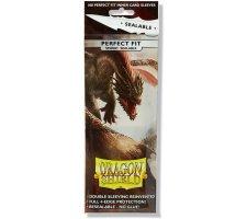 Dragon Shield Sleeves Perfect Fit Sealable Smoke (100 stuks)