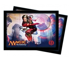Sleeves Return to Ravnica: Izzet (80 stuks)