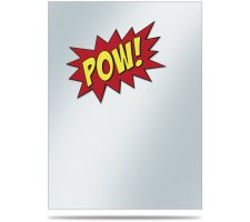 Deck Protector Covers Gamers: POW! (50 pieces)