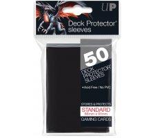 Deck Protectors Solid Black (50 pieces)