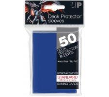 Deck Protectors Solid Blue (50 stuks)