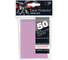 Deck Protectors Solid Bright Pink (50 pieces)