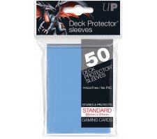Deck Protectors Solid Light Blue (50 pieces)