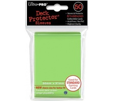 Deck Protectors Solid Light Green (50 stuks)
