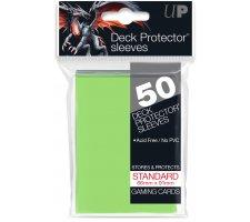 Deck Protectors Solid Light Green (50 pieces)