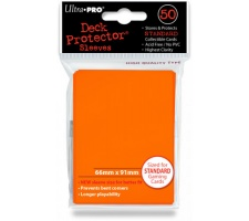 Deck Protectors Solid Orange (50 stuks)