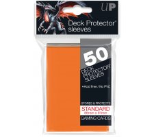 Deck Protectors Solid Orange (50 pieces)