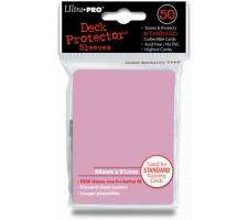 Deck Protectors Solid Pink (50 stuks)
