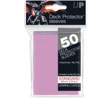 Deck Protectors Solid Pink (50 pieces)