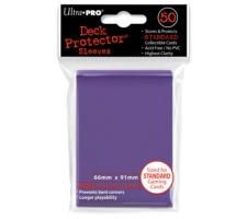Deck Protectors Solid Purple (50 stuks)