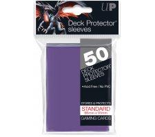 Deck Protectors Solid Purple (50 pieces)