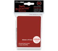 Deck Protectors Solid Red (50 stuks)