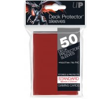 Deck Protectors Solid Red (50 pieces)