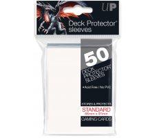 Deck Protectors Solid White (50 pieces)