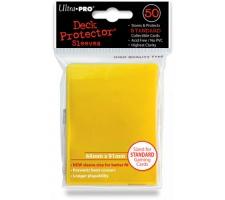 Deck Protectors Solid Yellow (50 stuks)
