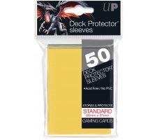 Deck Protectors Solid Yellow (50 pieces)