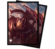Sleeves Strixhaven: School of Mages: Lorehold (100 pieces)
