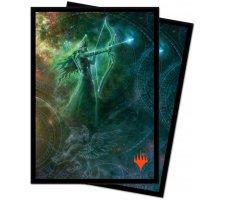 Sleeves Theros Beyond Death: Alternate Art Nylea (100 stuks)