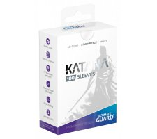Ultimate Guard Katana Sleeves: Transparent (100 stuks)