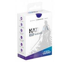 Ultimate Guard Katana Sleeves: Blue (100 stuks)