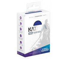 Ultimate Guard Katana Sleeves: Blue (100 pieces)