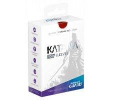 Ultimate Guard Katana Sleeves: Red (100 stuks)