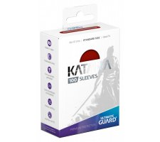 Ultimate Guard Katana Sleeves: Red (100 pieces)