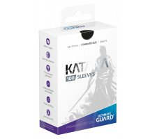 Ultimate Guard Katana Sleeves: Black (100 pieces)