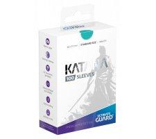 Ultimate Guard Katana Sleeves: Turquoise (100 stuks)