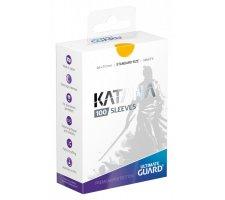 Ultimate Guard Katana Sleeves: Yellow (100 stuks)