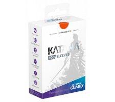Ultimate Guard Katana Sleeves: Orange (100 stuks)