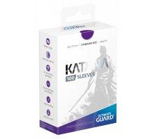 Ultimate Guard Katana Sleeves: Purple (100 stuks)
