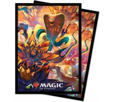 Sleeves Zendikar Rising: Lotus Cobra (100 stuks)