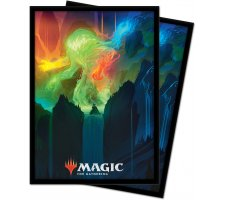 Sleeves Zendikar Rising: Omnath, Locus of Creation (100 stuks)