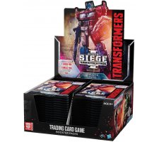 Booster Display Transformers TCG: War for Cybertron - Siege I
