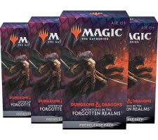 Prerelease Pack Adventures in the Forgotten Realms (set of 4) (+ 4 free boosters)