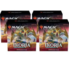 Prerelease Pack Ikoria: Lair of Behemoths (set of 4) (+ 4 free boosters Ikoria))