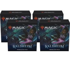 Prerelease Pack Kaldheim (set of 4) (+ 4 free boosters Kaldheim)