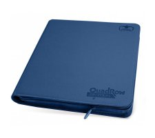 Ultimate Guard 12 Pocket QuadRow Zipfolio XenoSkin Dark Blue