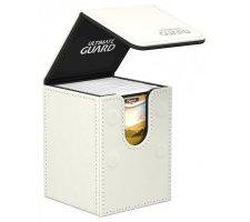 Ultimate Guard Flip Deck Case 100+ Leatherette White