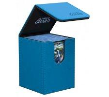 Ultimate Guard Flip Deck Case 100+ Leatherette Blue