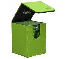 Ultimate Guard Flip Deck Case 100+ Leatherette Green