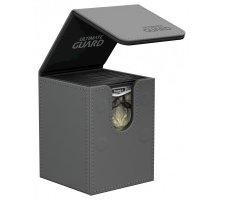 Ultimate Guard Flip Deck Case 100+ Leatherette Grey