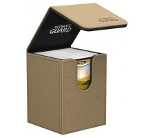 Ultimate Guard Flip Deck Case 100+ Leatherette Sand