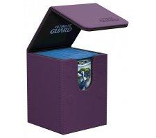 Ultimate Guard Flip Deck Case 100+ Leatherette Purple