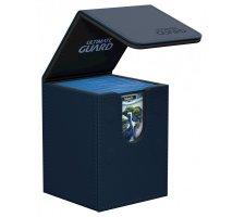 Ultimate Guard Flip Deck Case 100+ Leatherette Dark Blue
