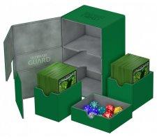 Ultimate Guard Twin Flip'n'Tray Deck Case 160+ XenoSkin Green