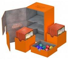 Ultimate Guard Twin Flip'n'Tray Deck Case 160+ XenoSkin Orange