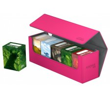 Ultimate Guard ArkHive Flip Case 400+ Pink