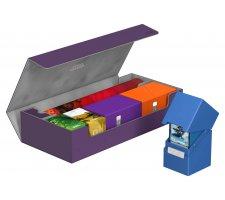Ultimate Guard SuperHive Flip Case 550+ Purple